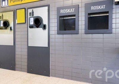 Automaattiemme ulkoasu on suunniteltu sopimaan suomalaiseen myymäläympäristöön. Ulkoasu on myös kokonaan muokattavissa.